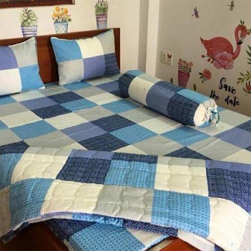 Bộ Drap Cotton Thắng Lợi bo drap cotton thang loi 7