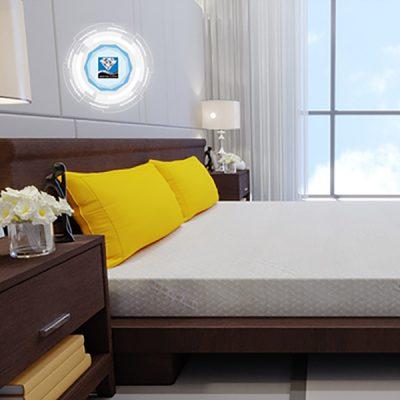 Nệm cao su thiên nhiên (CSTN) Happy Gold Kim Cương camera4 logo 19 1