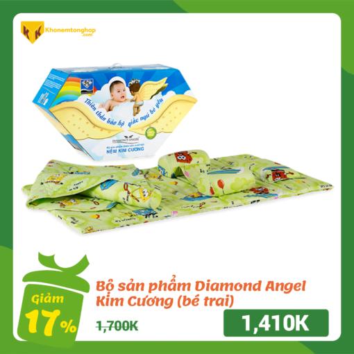 Bộ sản phẩm Diamond Angel (bé trai) - Kim Cương Nemembe 10