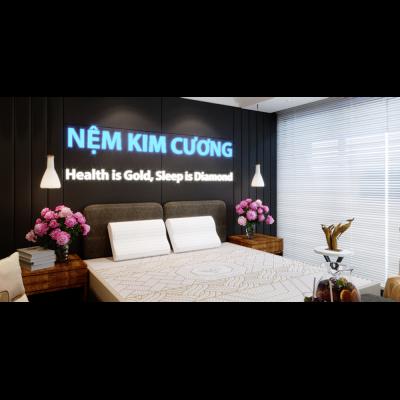 Gối cao su thiên nhiên SINY A - Kim Cương SINY A Kim Cuong 7