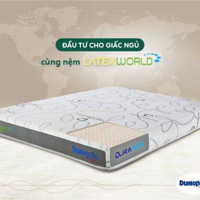 Nệm cao su thiên nhiên Latex World Eco - Dunlopillo dunlopillo world eco 5