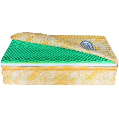 Nệm bông Mousse 7 vùng Organic Sleep 02 (vỏ lồng, gấp 3) - Kim Cương Organic Sleep 1