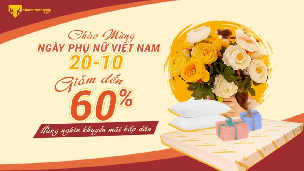 KHONEMTONGHOP.COM CHÀO MỪNG NGÀY PHỤ NỮ VIỆT NAM 20.10 Web 1920x1080 1
