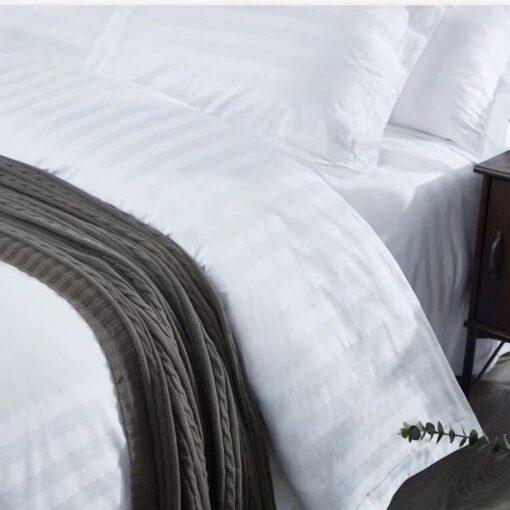 [Khách sạn] Bộ drap mền cotton sọc 3cm ANITA z2469659138831 06c7e28635ab131b5a247d86cd4d62b4