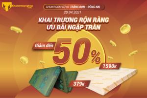 KHAI TRƯƠNG RỘN RÀNG - ƯU ĐÃI NGẬP TRÀN Cover Khaitruong TrangBom 01