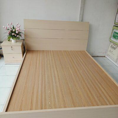 Giường gỗ MDF Giuong MDF 1