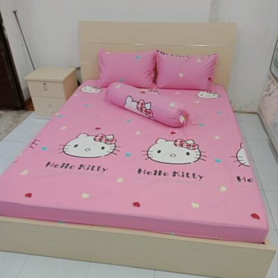 Giường gỗ MDF Giuong MDF 2