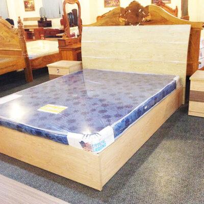 Giường gỗ MDF giuong MDF