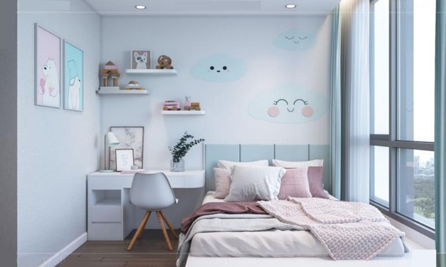 nội thất căn hộ 2 phòng ngủ